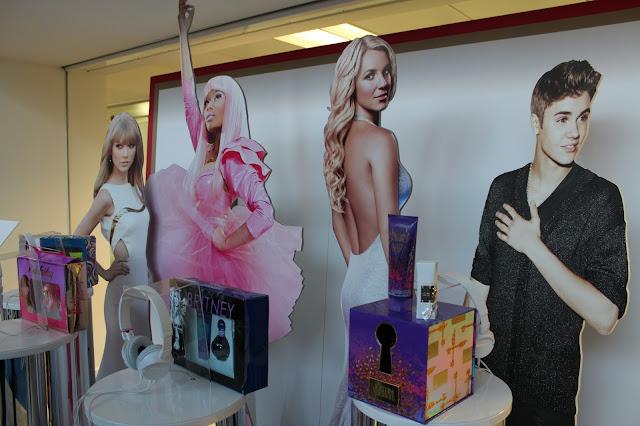 A picture of celebrity fragrances by Elizabeth Arden
