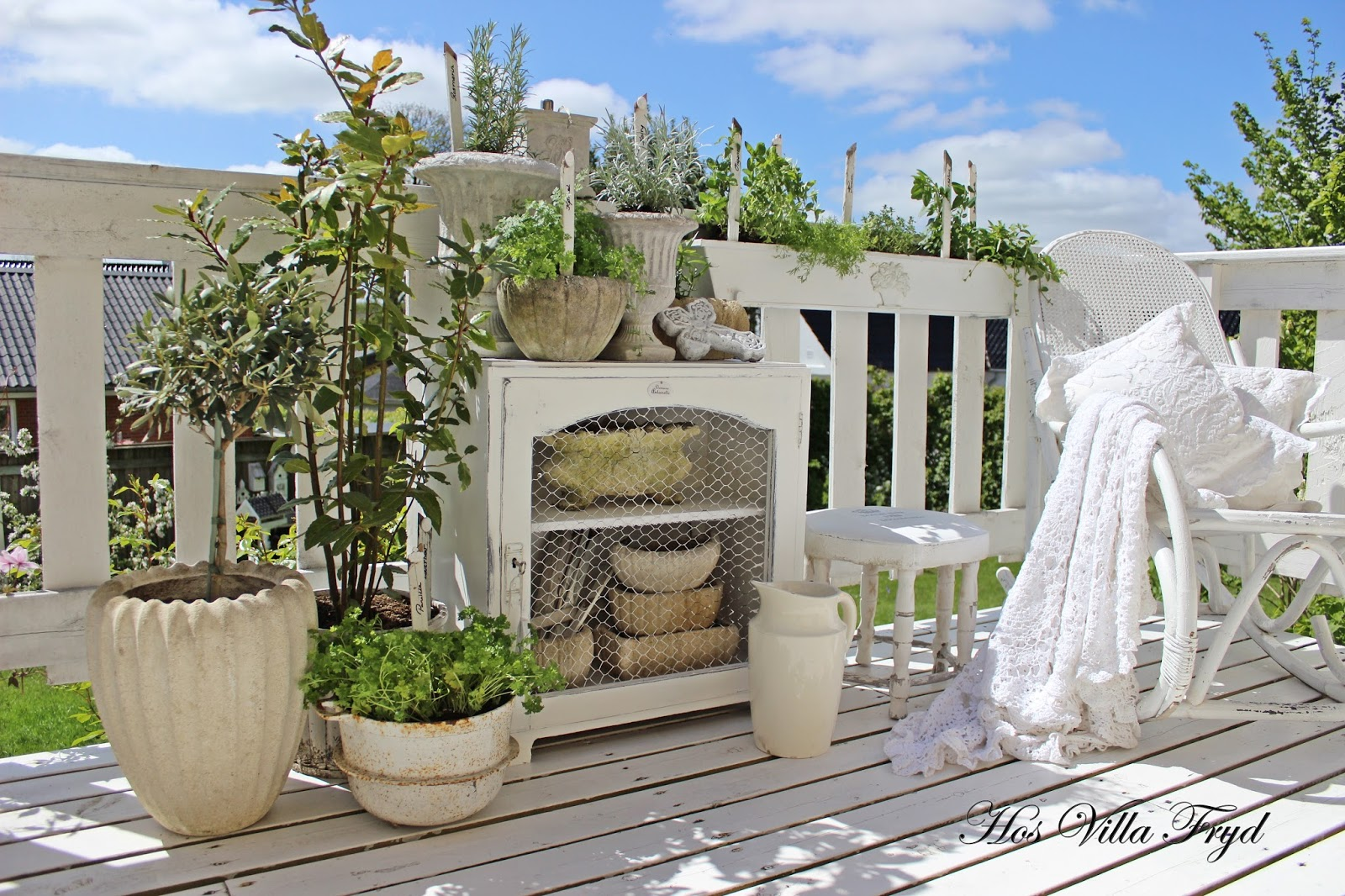 Hos villa fryd: min sydlandske veranda