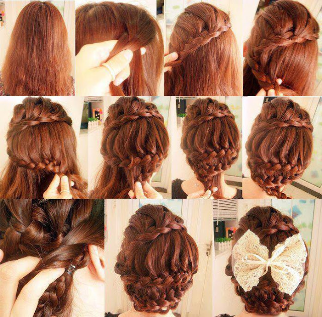 Curvy hair braid style for ladies