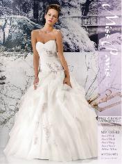 vestidos ajustado de novia