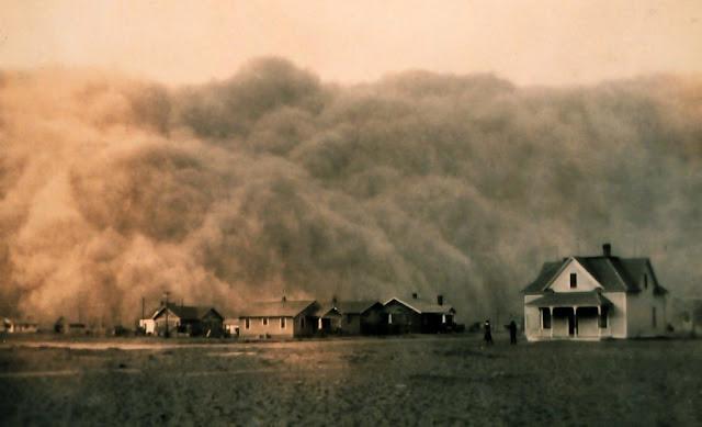 Badai debu di Amerika