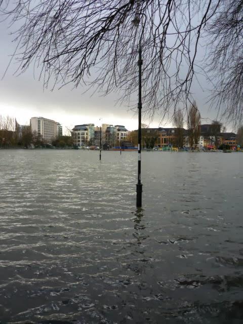 CHRISTCHURCH MEADOWS flooded.