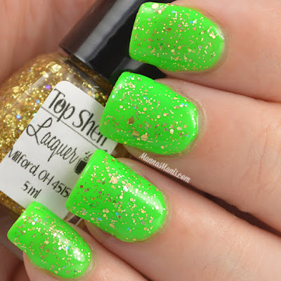 Top Shelf Lacquer Ginger Shandy swatches