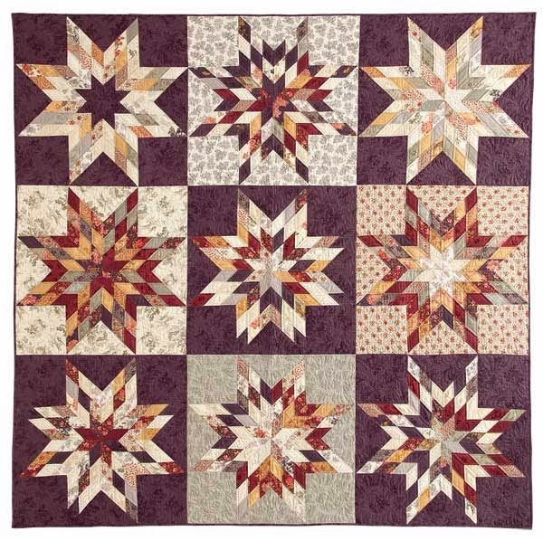 Quilting Pattern For Lone Star : Moda Lissa: Lone Star Sampler- Mc Calls Quilting