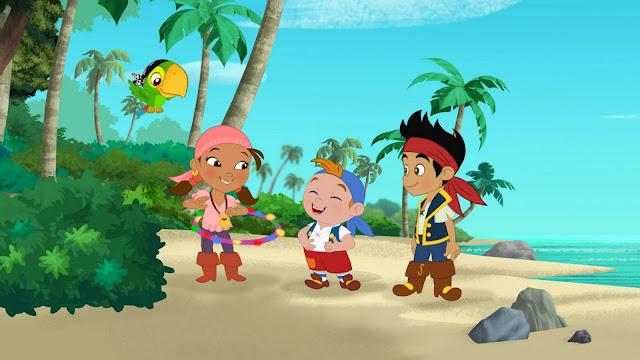 jake y los piratas del pais nunca jamas