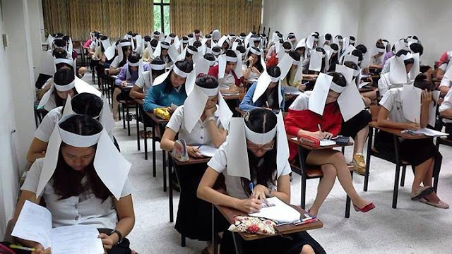 Anti Cheating Paper Hats