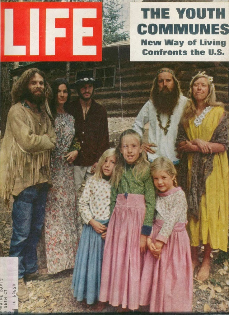 a look at the life of the hippies Fashions of the 1960s: mods, hippies and musicians began to adapt a new bohemian life style hippie style encouraged a natural look that included long.