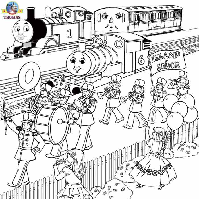 thomas train coloring pages - photo#42
