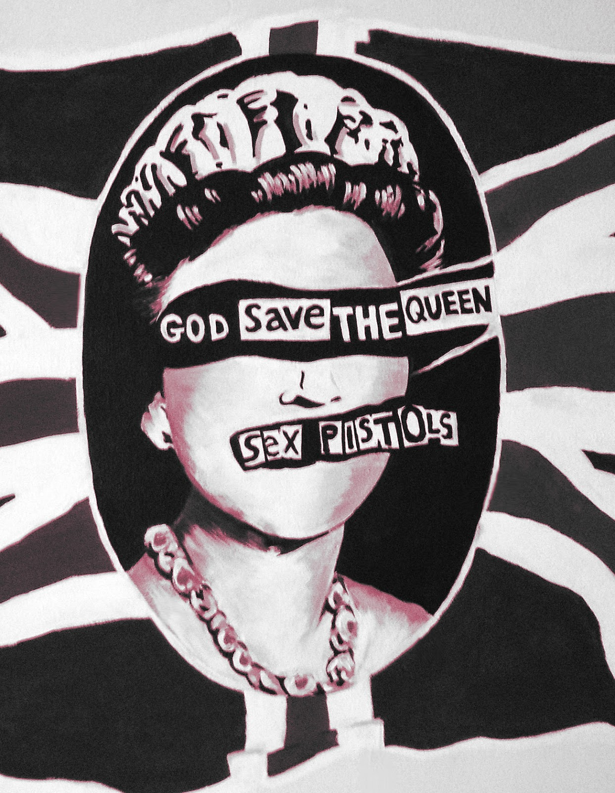 sexe plage Sex Pistols God save the queen