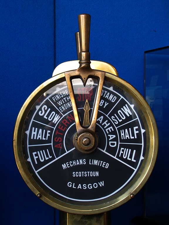 Engine order telegraph, E.O.T., chadburn
