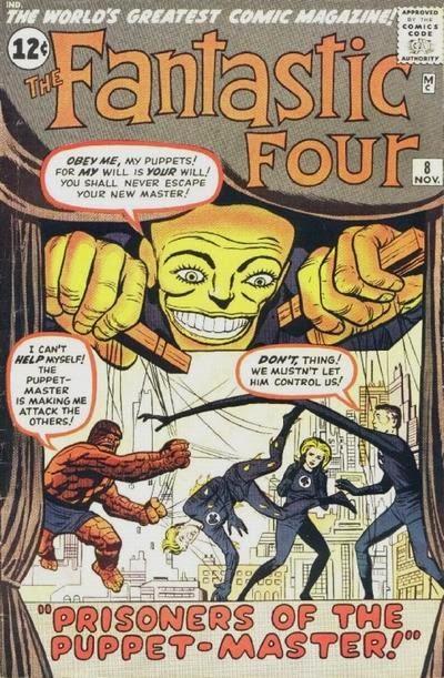 Fantastic Four #8