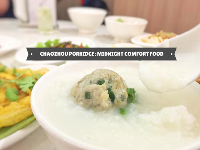ChaoZhou Porridge at River Valley Road