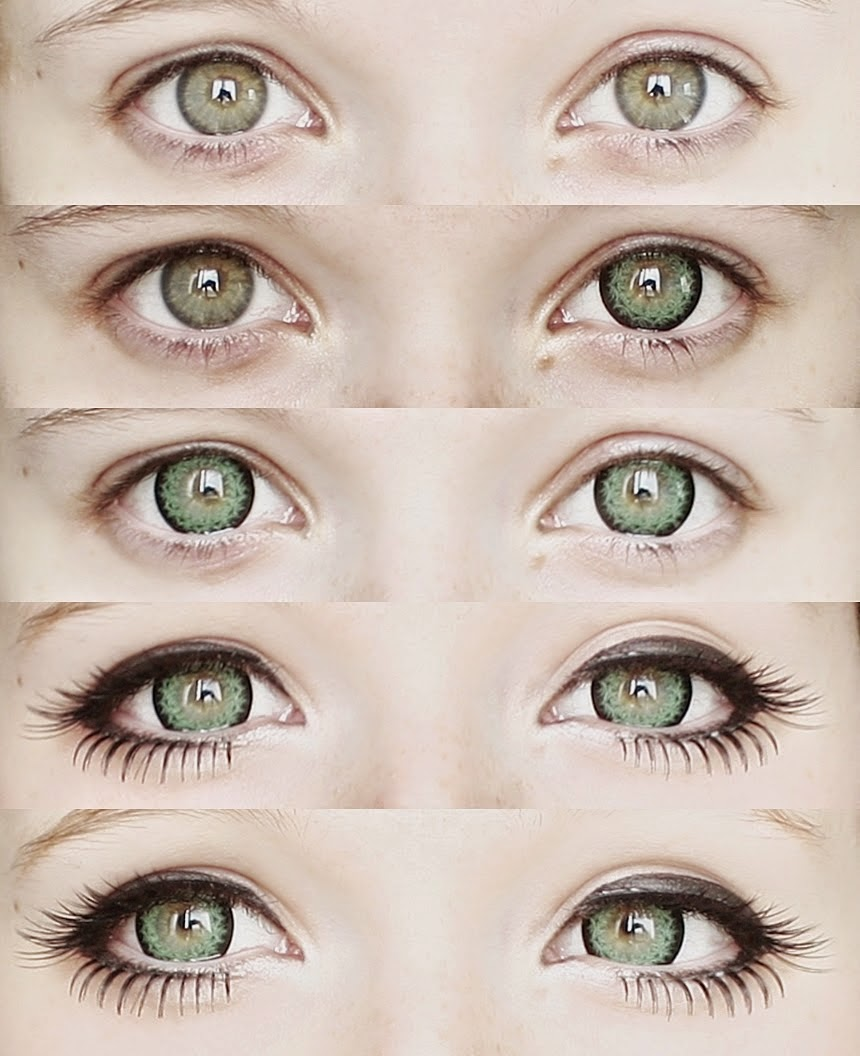 Bold & Dramatic Green Eyes: Dolly Eye Georgiae Green
