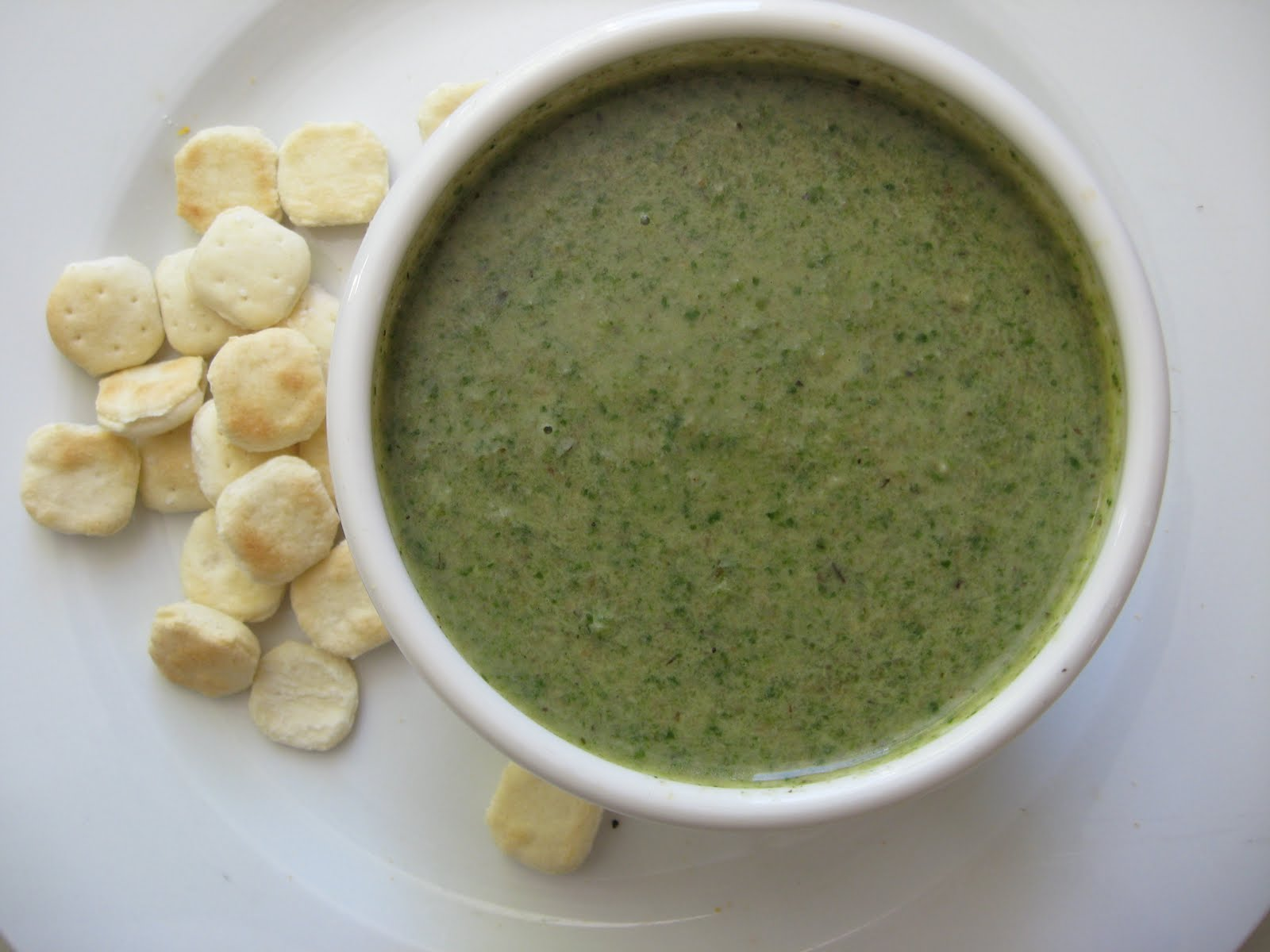 she's in the kitchen: watercress and mushroom soup - a hint of Spring