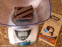 chocolate en gramos