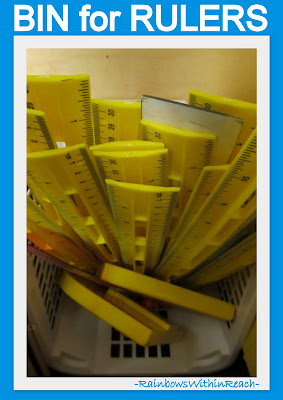 photo of: Classroom Supply Organization