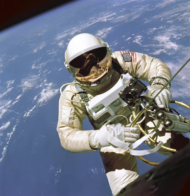Nasa Spacesuit and Helmet