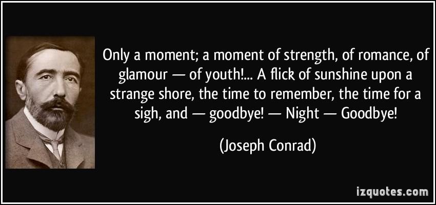 Joseph conrad essay