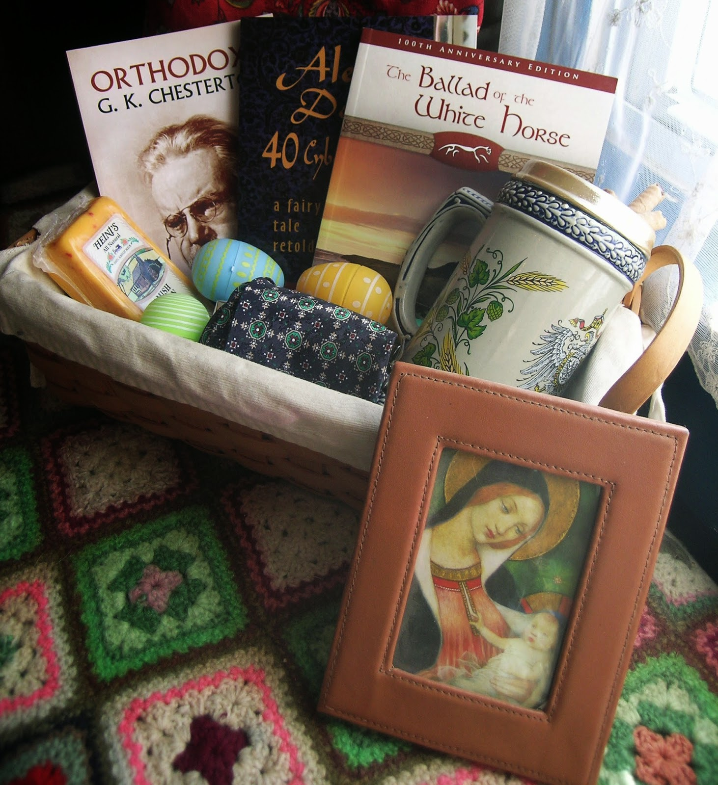 House art journal easter basket tour 2014 chesterton loving guy easter basket tour 2014 chesterton loving guy negle Choice Image