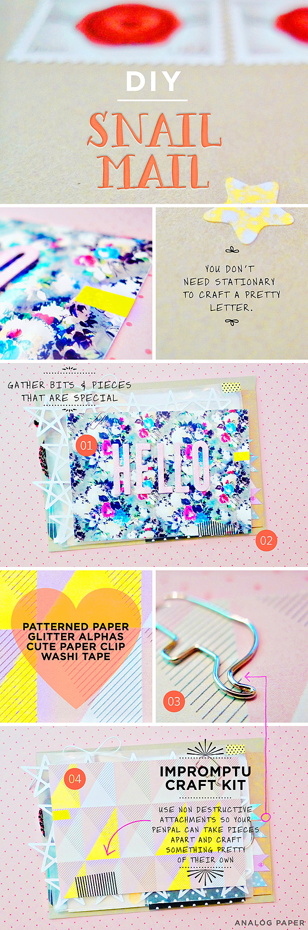 DIY // Snail Mail // Gift Idea // Mini Craft Kit