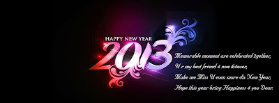 New Year for Facebook 2013 Covers Wallpapers