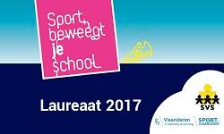laureaatschool 'Sport beweegt je school'
