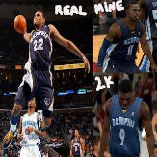 NBA 2K13 Memphis Grizzlies Away Jersey Mod