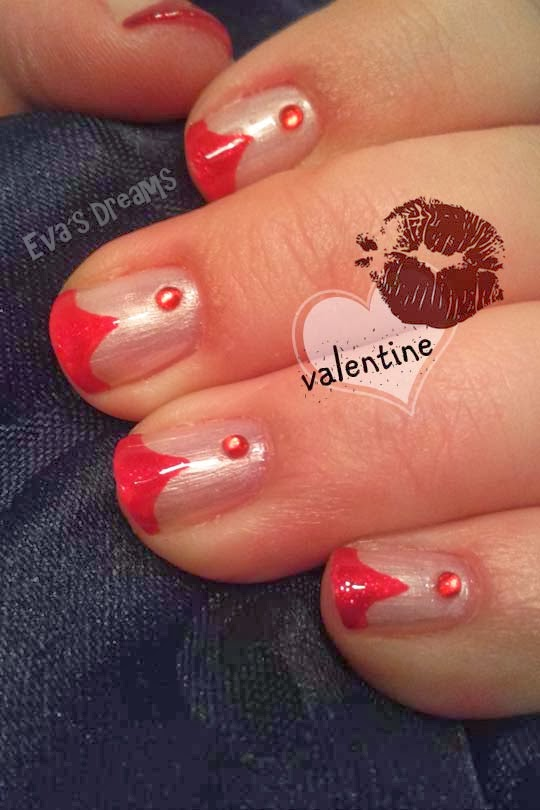 Nails of the week: Nail art - Valentine Nails -