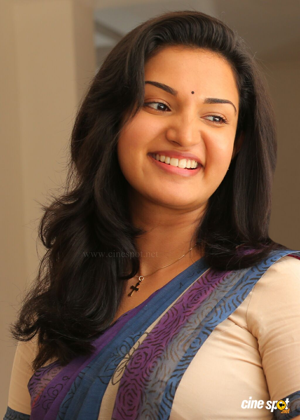 Honey Rose latest hot photos in saree from Sir CP