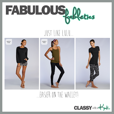 Classy with a Kick: Fabletics Work Out Wear Review