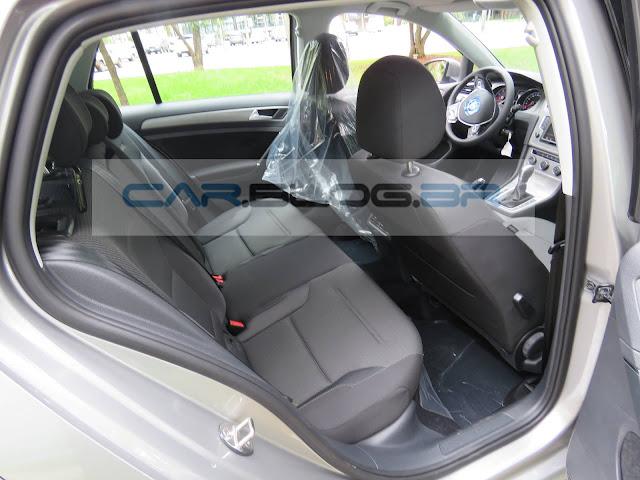 VW Golf 1.6 MSI Automático 2016 - interior