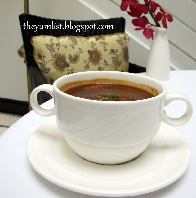 Colonial Cafe, The Majestic Hotel Kuala Lumpur, Colonial Cuisine, Hainanese