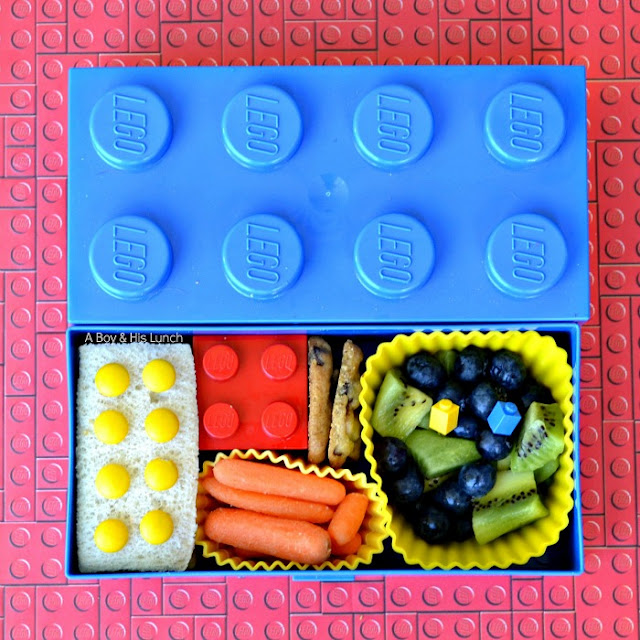 a boy his lunch a pair of lego lunches. Black Bedroom Furniture Sets. Home Design Ideas