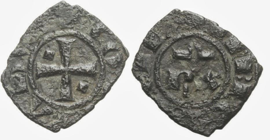 medio denario de Conrado I. Brindisi Aaaa
