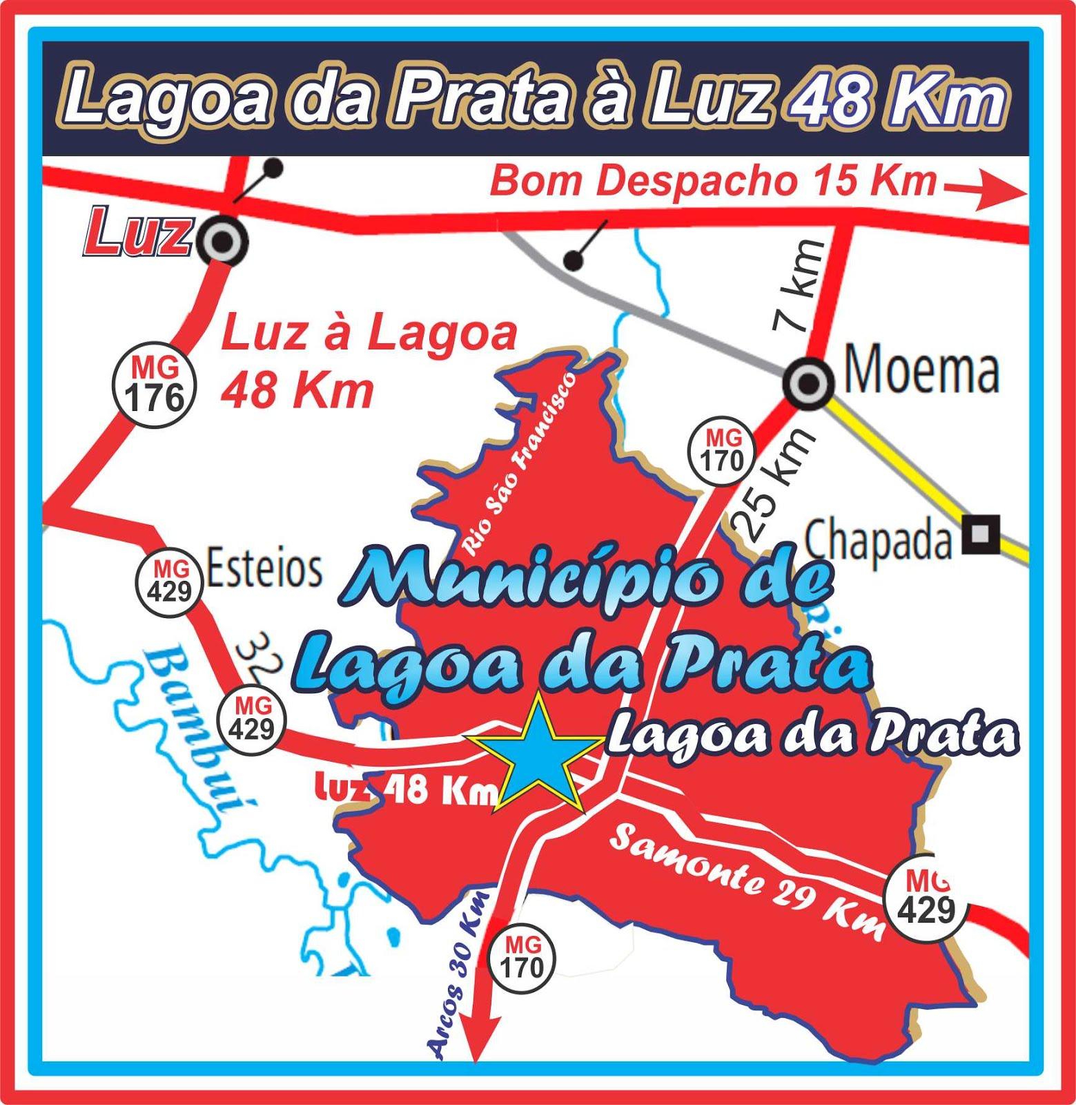 Mapa Oficial da Região