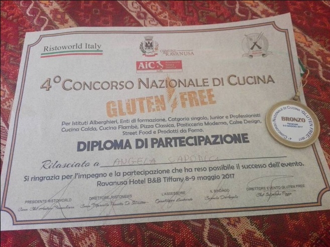 4° Concorso Nazionale Gluten Free,