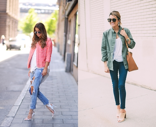 Easy Jeans and Heels Look, Ripped Jeans Trend, Nette Nestea Blg, Hello Fashion Blog