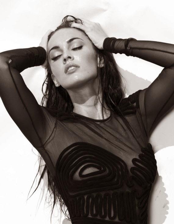 Glamorous Megan Fox Photoshoots for Elle