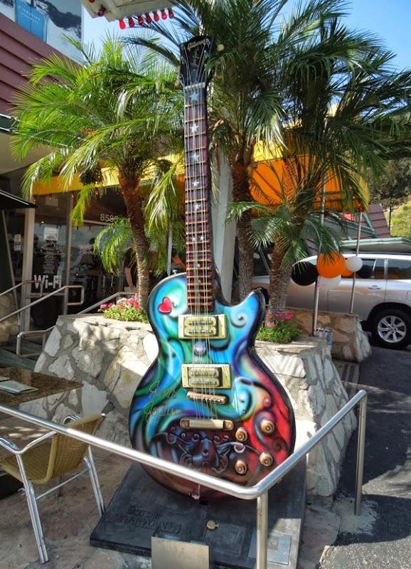 Janis Joplin GuitarTown tribute sculpture Lyle Tuttle Mark Phillips