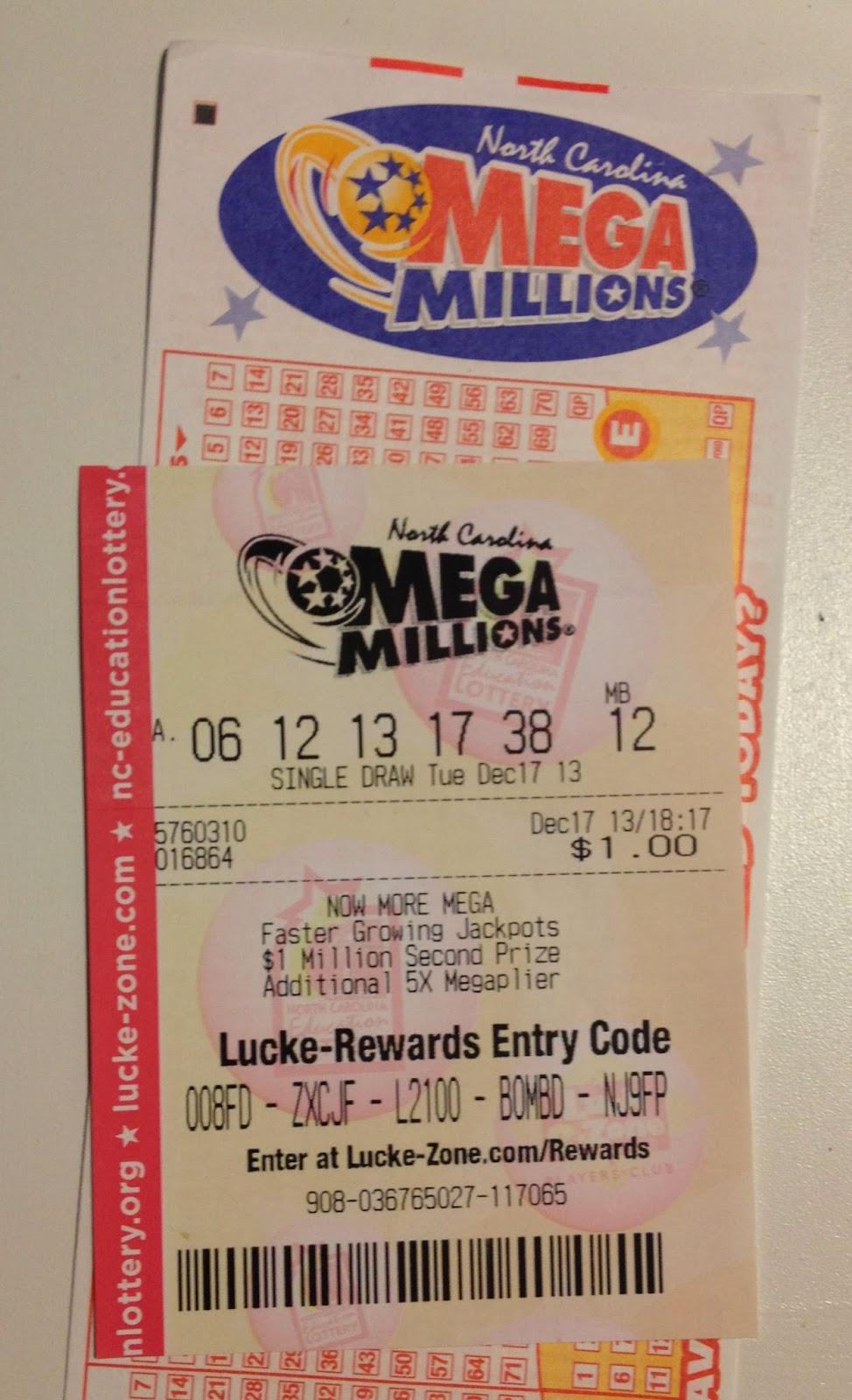 The Simple Life Blog: Mega Millions WINNER!