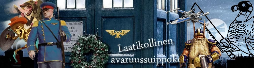 Laatikollinen avaruussuippokorvia