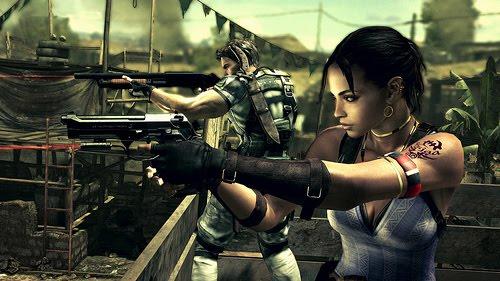 Resident Evil 5 Chris Sheva
