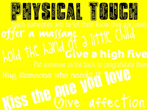 Physical touch love language dating