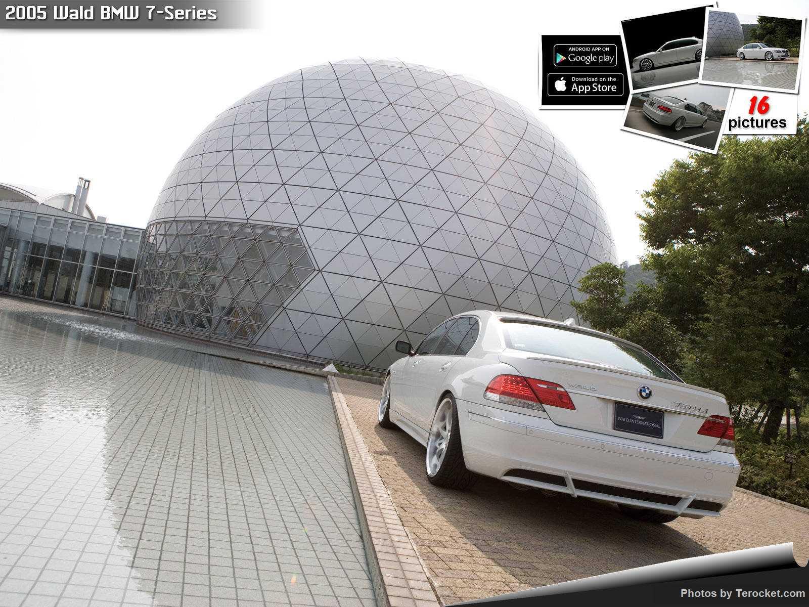 Hình ảnh xe độ Wald BMW 7-Series 2005 & nội ngoại thất
