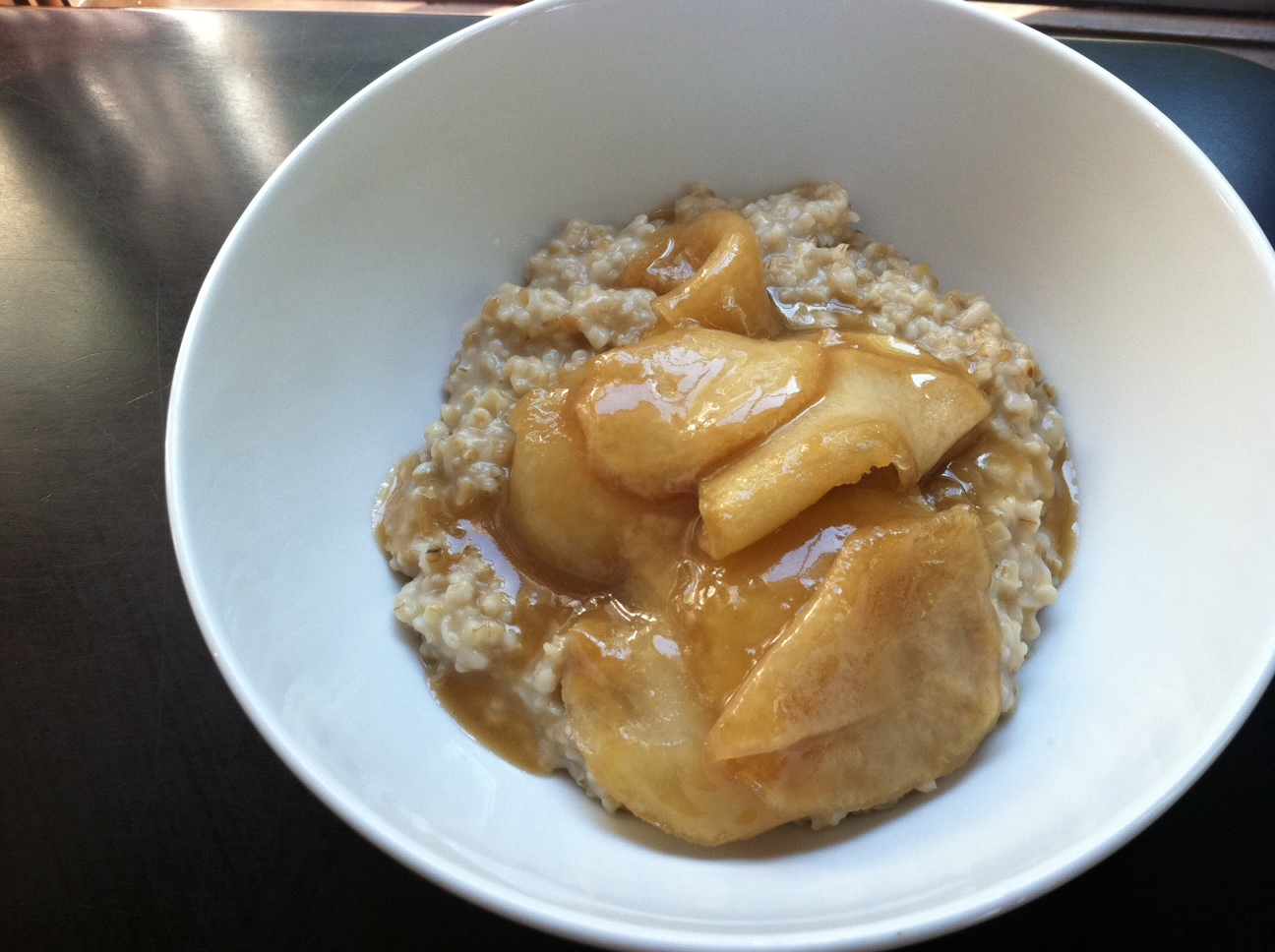 The Gourmet Project: Butter-Toasted Oatmeal with Sticky ...