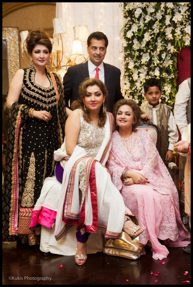 Ahmed ali butt wedding Pictures with Family   Myipedia