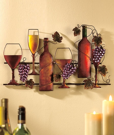 Fort lauderdale connex wine rack or wall hanging - Wine rack shaped like wine bottle ...