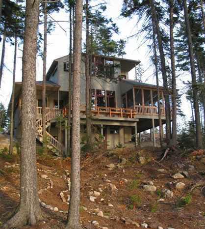 Hillside house plans ayanahouse for Hillside cottage plans