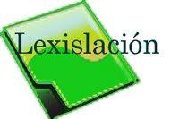 LEXISLACIÓN  CONSELLERÍA EDUCACIÓN
