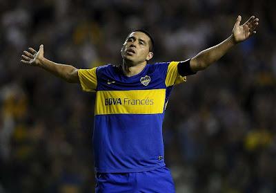 Riquelme se despidió públicamente de Boca Juniors